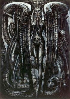Lilith - HR Giger (1976)