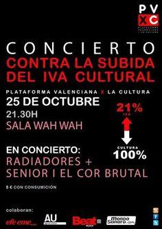 .ESPACIO WOODYJAGGERIANO.: Concierto contra la subida del IVA cultural http://woody-jagger.blogspot.com/2012/10/concierto-contra-la-subida-del-iva.html