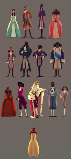 And Peggy - A gallery-quality illustration art print by Patrycja Cmak for sale. (Hmm lets see: Eliza, Alex, Aaron, Angelica, John Laurens, Hercules Mulligan, Lafayette, George Washington, Maria Reynolds, Thomas Jefferson, King George III, James Madison, Phillip Hamilton, AND PEGGY!!!! Whew!)