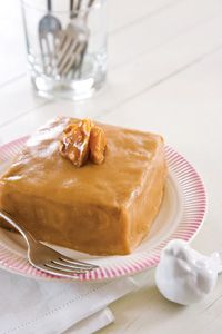 Buttermilk Cakes with Brown Sugar Frosting