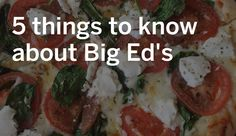 Here's what to know about Huntsville's oldest pizzeria.