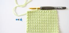 Learn how to crochet one of the most common decreases, sc2tog, single crochet two together with this easy to follow tutorial from B.hooked Crochet.