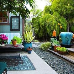 Budget Friendly Backyard Makeover.