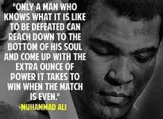 Muhammad Ali was one of the most inspiring athletes in history. Here are 30 of the greatest Muhammad Ali quotes to inspire you to achieve your own goals. Powerful Inspirational Quotes, Great Quotes, Quotes To Live By, Motivational Quotes, Life Quotes, Success Quotes, Coaching Quotes, Leader Quotes, Wisdom Quotes