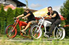 custom bicycles | El-Cycle Custom Bikes, spezieller Akkubau