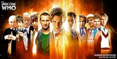 The 11 faces of the Doctor