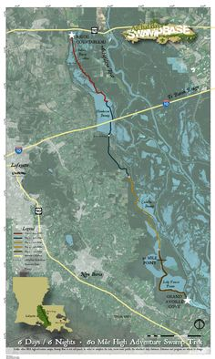 Map Symbols, Louisiana Swamp, Trek, Adventure, Search, Google, Searching, Adventure Movies, Adventure Books
