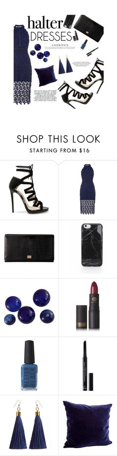 """""""Untitled #123"""" by putriyolandas ❤ liked on Polyvore featuring Jimmy Choo, Bardot, Dolce&Gabbana, Lipstick Queen, Kester Black, Christian Dior, Posh Totty Designs Interiors and halterdresses"""