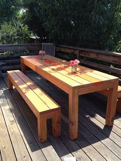 """""""the pallet 3"""" biergarten table"""