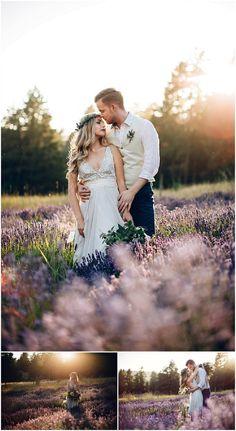 whimsical lavender field shoot