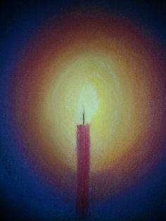 Lichtje in de donkere dagen... Illustration Art, Illustrations, Creative Skills, Art Therapy, Watercolours, Advent, Watercolor Art, Coaching, December