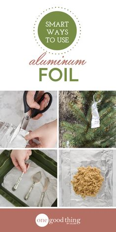 Aluminum foil is incredibly versatile, and can be used in all sorts of ways to save you tons of time and effort. Here are 15 ways to use it!