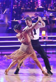 William Levy and Cheryl Burke-DWTS
