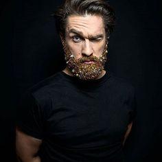 Glitter na Barba para Carnaval