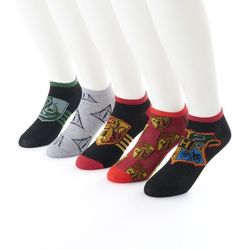 1d3b3fd6334e6 Men s Harry Potter 5-Pack No-Show Socks