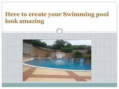 Here to create your swimming pool look amazing  Commercial Swimming Pool Design at Pune offer Development of Swimming Pools that are known for perfect great quality. One can easily personalize his own sophisticated exotic heaven pool that appears like to the natural ponds.