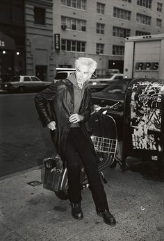When they find the cure for baldness, I will look like Jim Jarmusch.