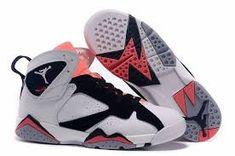 new styles d4fce 60371 Authentic Cheap Air Jordan 7 Lastest 2015 new Authentic Cheap Air Jordan  retro 7 vii white black pink shoe for sale
