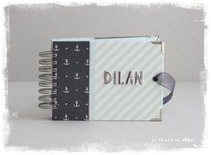 Mini álbum estilo marinero para el primer cumple de Dilan Sailor Style, Mini Albums, Meet, Paper Envelopes