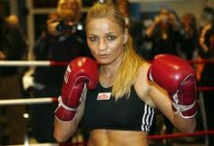 Regina Halmich #femaleboxers #boxing Female Boxers, Kickboxing, Germany, Boxes, Crates, Deutsch, Box, Cases, Boxing
