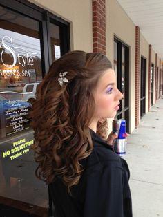 Homecoming Hair:)
