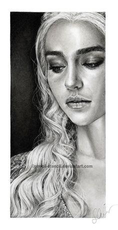 Daenerys by Pencil-Stencil on DeviantArt