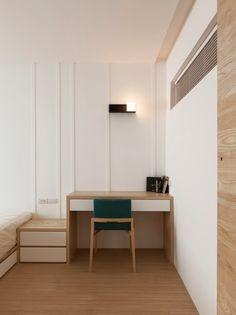 дневник дизайнера: Современный интерьер под дерево в лучших традициях минимализма. 9 стильных квартир из Тайваня