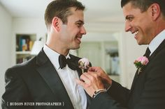 Gay Wedding Photography in the Hudson Valley | { Hudson River Photographer }