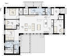Own Home, House Plans, Sweet Home, New Homes, Floor Plans, Layout, Flooring, How To Plan, Architecture
