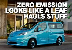 Nissan Building Quirky and Cute e-NV200, Starting Next Year