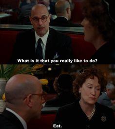 Julie & Julia - Nora Ephron :: Filme delicinha, perfeito para uma tarde de domingo. E nunca se erra com Meryl Streep.