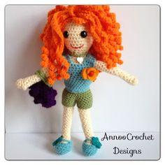 Fab free crochet doll tutorial by Annoo designs