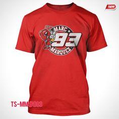 Marc Marquez T-Shirt 93 Motogp Champion Ant Logo Shirt