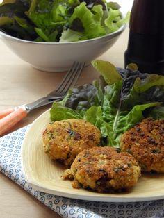 Croquettes de Millet, Roquette, Tomates Confites et Tofu {sans œufs} #recette #végétal #vegan @ Le Cri de la Courgette