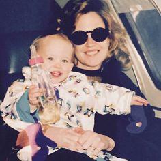 Dakota & Mom Melanie - 1990