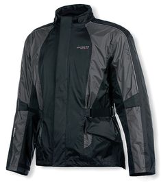 A spring tour along the Blue Ridge Parkway was the perfect location for Olympia to test their New Horizon rain jacket. Despite multiple days of steady rain, their test pilots stayed comfortable and dry due to Horizons lightweight waterproof breathable rip stop nylon shell. Unlike standard straight cut or bat wing shaped rain jackets, the New Horizon offers a truly ergonomic fit for added comfort and reduced wind drag at speed.