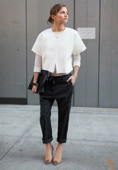 Simple Chic |   http://www.fabulishliving.blogspot.ca/2014/03/emerson-fry-spring-2014.html
