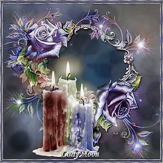 Framed Wallpaper, Love Wallpaper, Wallpaper Backgrounds, Fire Candle, Candle In The Wind, Beautiful Fantasy Art, Beautiful Gif, Gifs Lindos, Beau Gif