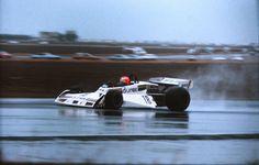 Rupert Keegan (GBR) (Durex Team Surtees), Surtees TS19 - Ford-Cosworth DFV 3.0 V8 (finished 5th)  1978 BRDC International Trophy, Silverstone Circuit - Great Britain