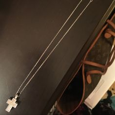 Swarovski Cross Necklace Swarovski Cross Necklace from Casale Jewelers. Excellent condition.🚫🚫🚫 No trades. No low balling offers. 🚫🚫🚫 Swarovski Jewelry Necklaces