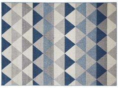 TEPPICH ''PEGAS'' - aus blauem Polypropylen, 120x170 cm - Artikelnummer :   41040