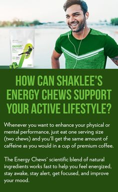 Discover how Shaklee Energy Chews can support your active lifestyle. Discover more about this product: Healthy Nutrition, Healthy Tips, Energy Boosters, Personal Library, Wellness Center, Energy Drinks, Health And Wellness, Workouts, Lifestyle