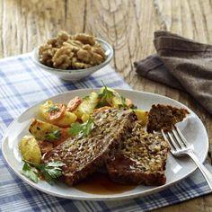Vegetarischer Walnuss-Braten Rezept   LECKER