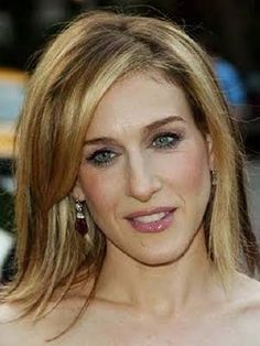 Sarah Jessica Parker Medium To Long Brown Straight Hair Style Picture Design 375 - Modern Long Face Hairstyles, Elegant Hairstyles, Hairstyles Haircuts, Straight Hairstyles, Hair Images, Hair Pictures, Sarah Jessica Parker Hair, Pixie, Brown Straight Hair