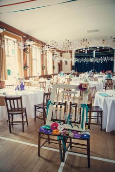 Rotherwick Village Hall Hampshire Wedding Venue Styling