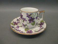 Vintage / Antique, Bavaria Teacup & Saucer Set - shopgoodwill.com #vintageteacups