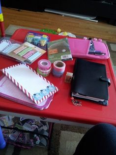 Setting Up Your Filofax Planner