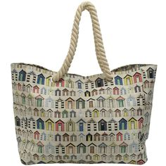 beach huts beach bag from Paperchase
