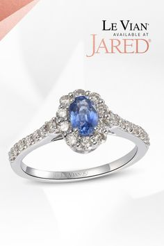 Like nectar from a stone. A trail of Nude Diamonds lead to an oasis of Blueberry Sapphire in this Le Vian ring that's ripe for the picking. Natural Sapphire Rings, Sapphire Stone, Diamond Stone, Unique Rings, Beautiful Rings, Diamond Jewelry, Gemstone Jewelry, Le Vian, Fashion Rings