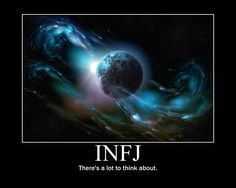 INFJ ~ There's a lot to think about. (Classic INFJ!) #INFJ